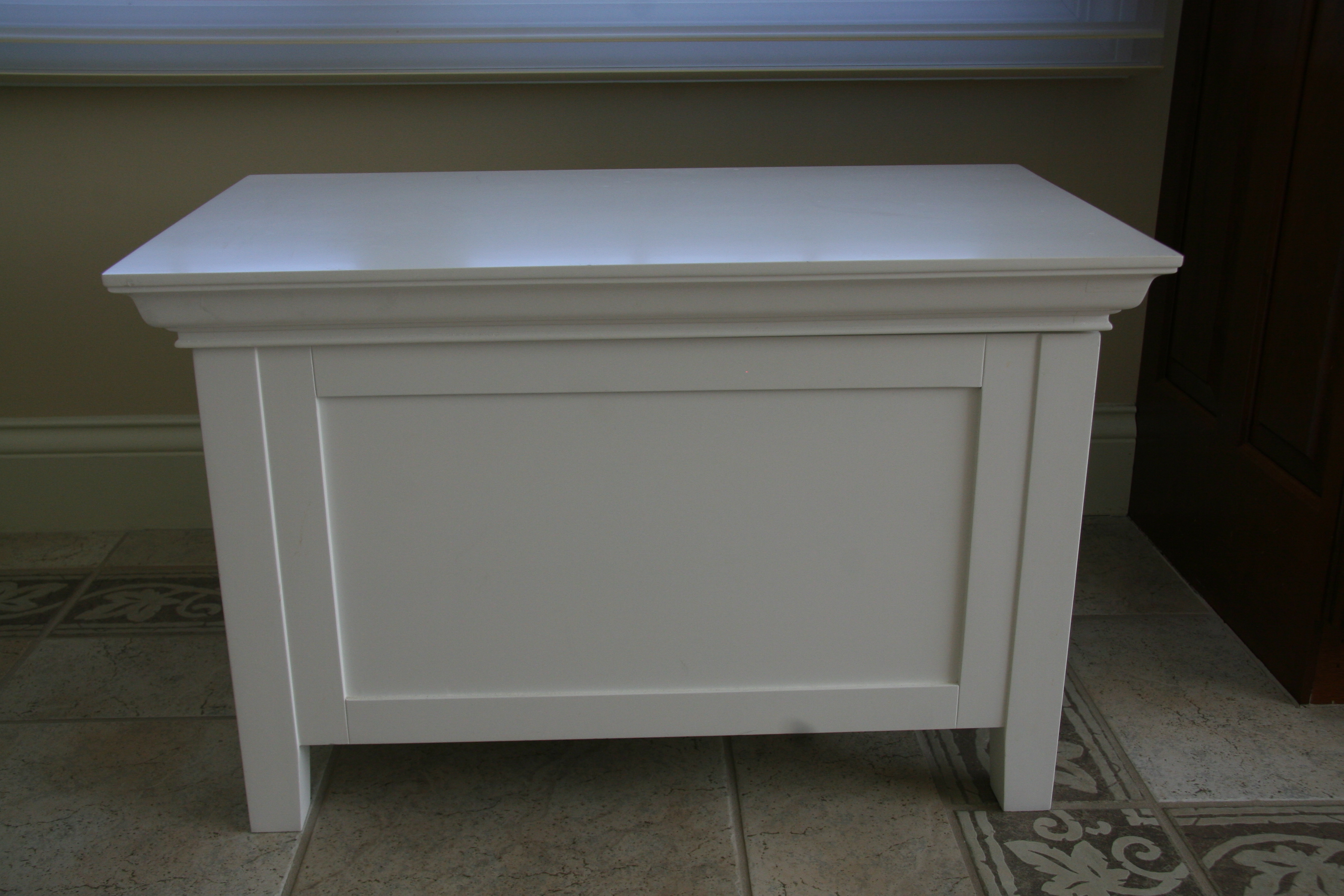 Pottery Barn White Storage Bench Goodstuffcheapstl 39 S Blog